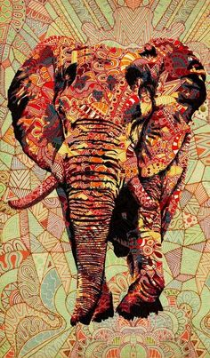 Elephants represent power, stability, family and companionship like no other animal.