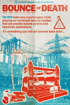 "Scarfolk Council: ""Bounce of Death"" Public Information (1976)"