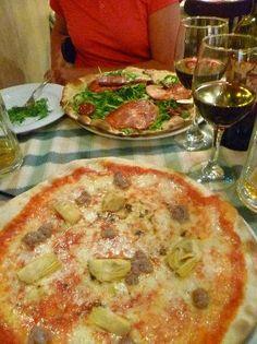 Pizza for two at La Scalinata