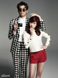 Choi Daniel  Jung So Min for Allure Korea