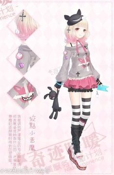 Anime girl outfit