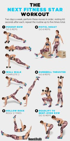 Pushup Row http://www.womenshealthmag.com/fitness/emily-schromm-workout