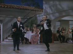 I love Fred Astaire, but the Nicholas Brothers are THE BEST dancers EVER. And this isn't even there greatest routine! Down Argentine way. The Nicholas Brothers. - YouTube