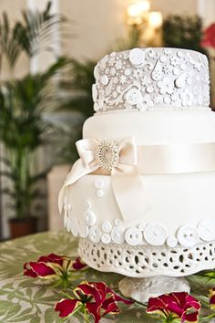 Vintage wedding cake ♥