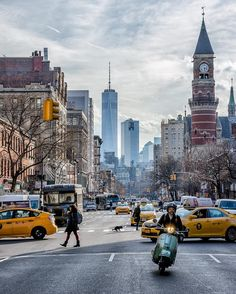 Not really a traditional New York picture. This scene actually makes me want to go.