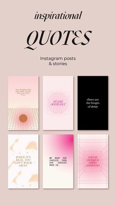 Social Media Template, Social Media Design, Instagram Quotes, Instagram Feed, Motivational Quotes, Inspirational Quotes, Quote Template, Girl Boss Quotes, Instagram Story Template