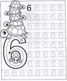 New System-Suitable Numbers Line Study - Preschool Children Akctivitiys Preschool Writing, Numbers Preschool, Preschool Learning Activities, Math Numbers, Preschool Printables, Preschool Lessons, Kindergarten Math, Kids Learning, Kids Math Worksheets