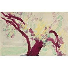 Untitled (Old Tree) By Georgia O'Keeffe ,1918