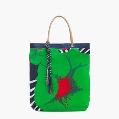 Tote in mixed Ratti® prints