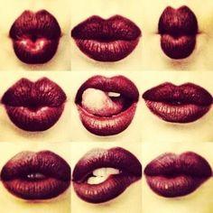 Sexy #lips #red #lipstick