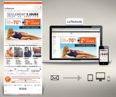 La Redoute BE Campagne Emailing Soldes - Yoo Communication Interactive
