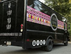 Southern Bohemian Boutique is a bread truck turned mobile boutique. It is the most recent boutique on wheels to crop up in the metro area. Photo by Amanda Winchester.