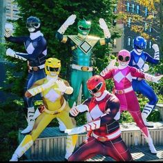 Badass Mighty Morphin' Power Rangers cosplay