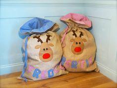 Tutorial : How to make DIY Christmas sacks