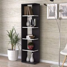 Furniture - Shelf Color - Dark Brown Size - Large From - Nigeria State - Brand New Priced at - Selling at - Quantity - 1 available ________ Buyer bears delivery cost ________ Bookshelf Design, Bookcase Shelves, Wall Shelves, Shelving, Diy Furniture, Furniture Design, Living Room Designs, Diy Home Decor, Bedroom Decor