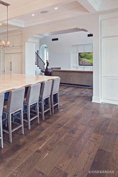 Live Sawn Wide Plank White Oak Flooring in Silverleaf Cheap Wood Flooring, Modern Wood Floors, Refinish Wood Floors, Types Of Wood Flooring, Diy Wood Floors, Rustic Wood Floors, White Wood Floors, Oak Hardwood Flooring, Wide Plank Flooring