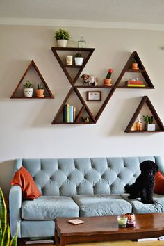15 Awesome Easy Diy Home Decor Ideas For Living Room Decor 45 Beautiful Diy Wall Art Ideas For Your Home Wall Decor Living 20 Ideas To Decorate A Blank Wall Diy Wall Dorm Room Walls… Diy Wall Art, Diy Wall Decor, Diy Home Decor, Wall Decorations, Art Decor, Diy Wand, Shelf Design, Wall Design, Design Room