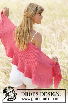 knit shawl wool cotton wrap wide shawl MADE TO ORDER by OlaKnits