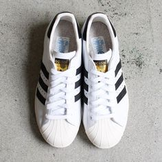 official photos 7406f da868 SS 2015 Trend - Adidas Superstar Noir Blanche Superstars Shoes, Adidas  Sneakers, Shoes Sneakers,