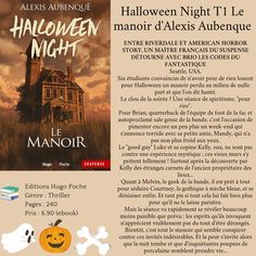Halloween Night T1 Le manoir d'Alexis Aubenque American Horror Story, La Face, Event Ticket, Halloween, Spiritism, The Mansion, Laughing, American Horror Stories, Spooky Halloween