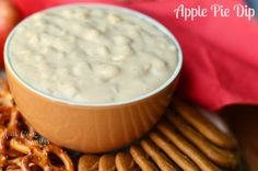 Warm Apple Pie Dip - Will Cook For Smiles