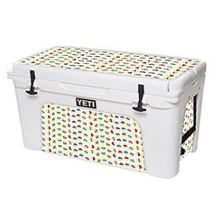 MightySkins Protective Vinyl Skin Decal for YETI Tundra 75 qt Cooler wrap cover sticker skins Balling -- Continue to the product at the image link.