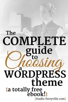 A 67-page ebook on Choosing the Perfect WordPress Theme for your business or blog.