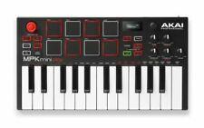 Akai Mpk Mini Play Mini Controller Keyboard With Built In Speakers In 2020 Midi Keyboard Akai Mini Keyboard