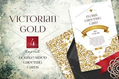 Victorian Gold 4 by O'Gold! on @creativemarket