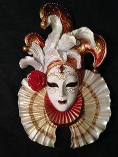 Maske Wanddeko FOR SALE • EUR 39,90 • See Photos! Money Back Guarantee. Wanddeko Maske Die venezianische Maske ist eine tolle Wanddeko. Aus Polyresin, handbemalt. 21,5/7/33 cm Material/Qualität: Aus Kunststein (Polyresin) 291971813470