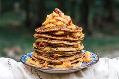 Mango Millet Peach Pancakes...