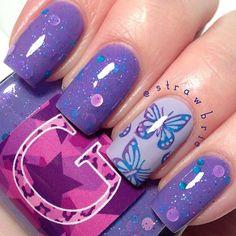 .@Hannah Mestel Mestel Barber   Twilight Sparkle by @glampolish_ *Le Sigh*