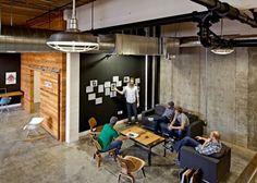 Industrial office interior