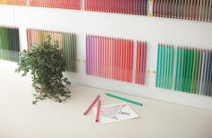 Color Inspiration: 500 Colored Pencils & Crayons, Shipped to You Monthly | Jeannie Huang