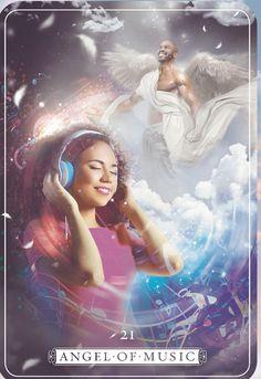 Guardian Angel Oracle by Debbie Malone , Angel of Music 😇