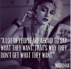 Madonnas, 80s