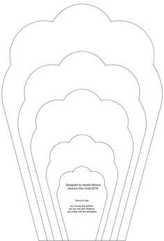 Dibujos De Numeros Para Colorear Moldes Pinterest Imprimir - Plantillas-para-hacer-flores-de-goma-eva
