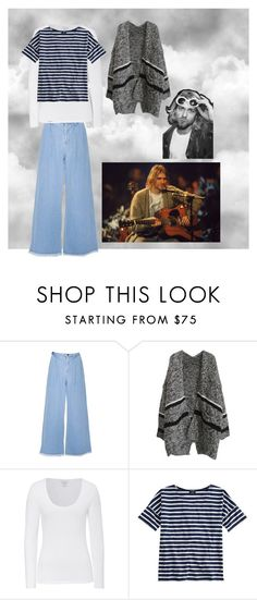 """""""Kurt Cobain Inspired"""" by gabrielle-mary ❤ liked on Polyvore featuring Majestic, Saint James, Inspired, kurt and cobain"""