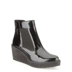 Marcelle Game in Black Interest Leather - Womens Boots from Clarks