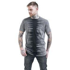 "Outer Vision Camiseta ""Vintage Zebra"" gris/negro • EMP"