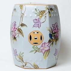 Hummingbird Porcelain Stool Ceramic Stool, Ceramic Garden Stools, Chinese Furniture, Oriental Furniture, Garden Seating, Garden Chairs, Kitsch, Swivel Rocker Recliner Chair, Chinese Garden