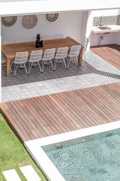 Villa JOJU- THE PERFECT FAMILY VILLA | Bali Interiors Backyard Pool Landscaping, Backyard Pool Designs, Small Backyard Pools, Swimming Pools Backyard, Swimming Pool Designs, Outdoor Rooms, Outdoor Living, Kleiner Pool Design, Small Pool Design