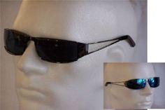 Emeco Matrix Style Revolution Agent Smith Sonnenbrille 2144bk, Schwarz /schwarz Rahmen