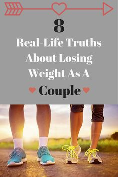 8 Real-Life Truths About Losing Weight As A Couple. #fitcouple #fitrelationship #weightloss