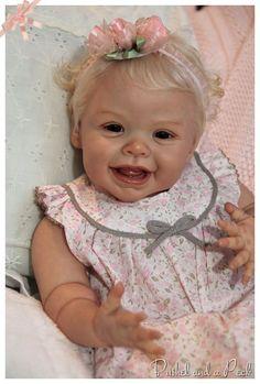 Reborn HARPER Andrea Arcello Baby Girl Doll, by Bushel and a Peck ...