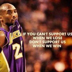 Kobe keeping it 100