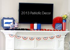 The Scrap Shoppe: 2013 Patriotic Decor