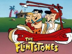 """The Flintstones: A full-length minute) animated cartoon TV series. Sure, cartoons had been broadcast since TV's inception, but never an actual primetime cartoon series. The show was """"made for adults by my kids watched it - never knew it was""""for adults"""" Comics Vintage, Vintage Cartoon, Vintage Tv, Cartoon Tv, Childhood Tv Shows, My Childhood Memories, Old Cartoons, Classic Cartoons, Best Tv Shows"""