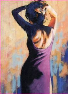 """Figurative art painting """"In the Mood for Love"""""""