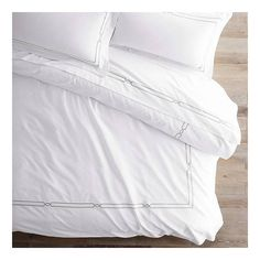 Resort Fretwork Duvet Cover - Fog, Queen (335 CAD) ❤ liked on Polyvore featuring home, bed & bath, bedding, duvet covers, deep pocket queen fitted sheet, queen top sheet, queen flat sheet, queen fitted bottom sheet and queen bed linens